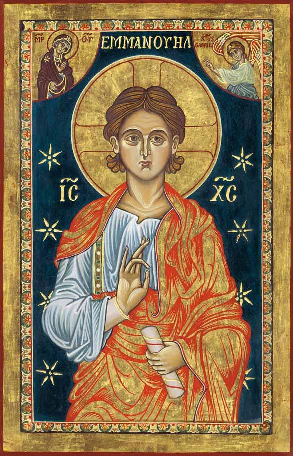l'icona dell'Emmanuele